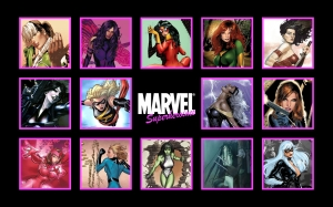 women -marvel-comics
