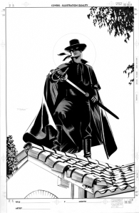 Zorro by mike mayhew