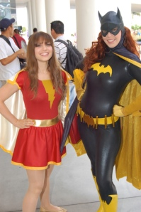 mary marvel and batgirl