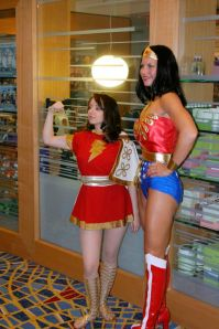 mary marvel and wonder woman