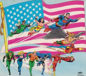 Super_DC_1976_Calendar_-_Justice_League_of_America_July