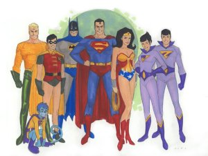 wallpaper-super friend by phill noto