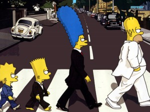 the-simpsons-beatles