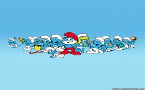 The-Smurfs-Cartoon-Wallpaper